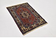 Link to 2' 6 x 3' 6 Ghoochan Persian Rug