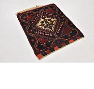 Link to 1' 7 x 1' 10 Shiraz Persian Square Rug