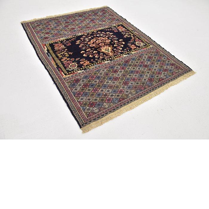 4' 6 x 5' 9 Yalameh Persian Rug