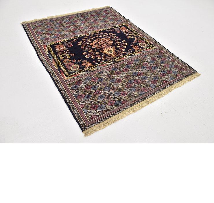 137cm x 175cm Yalameh Persian Rug