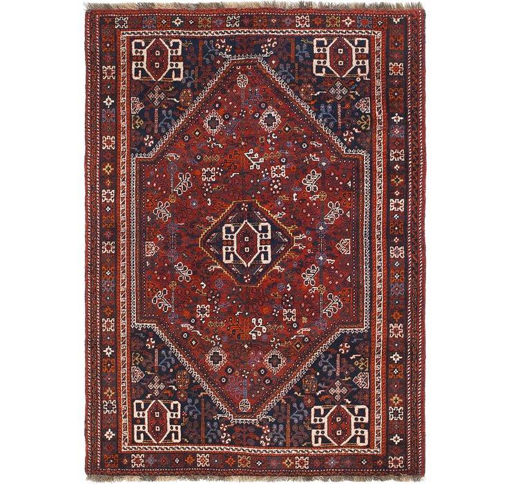 4' 8 x 6' 8 Ghashghaei Persian Rug