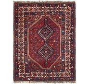 Link to 152cm x 208cm Ghashghaei Persian Rug