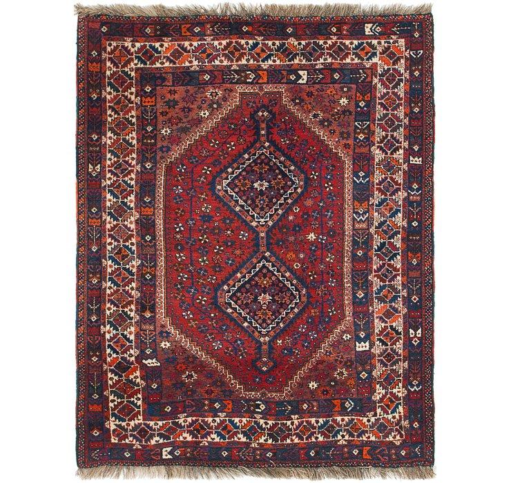 5' x 6' 10 Ghashghaei Persian Rug