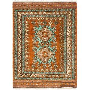 4' 7 x 6' Yalameh Persian Rug
