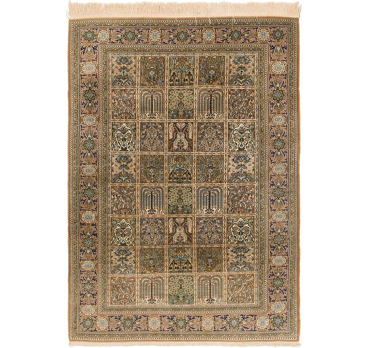 140cm x 205cm Kashmir Oriental Rug