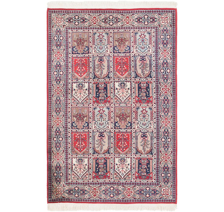 122cm x 193cm Sarough Oriental Rug