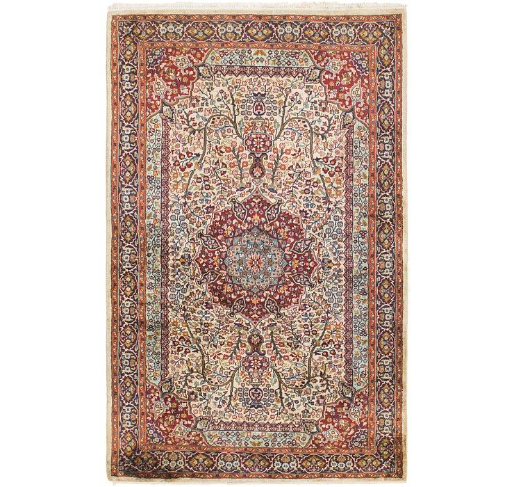 4' 2 x 6' 7 Jaipur Agra Oriental Rug