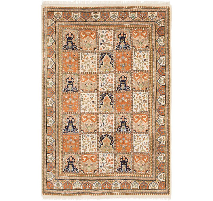 4' 3 x 6' 5 Sarough Rug