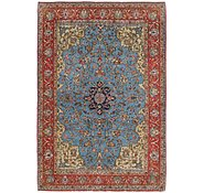 Link to 4' 5 x 6' 7 Qom Persian Rug