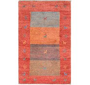 Link to 3' 4 x 5' 6 Shiraz-Gabbeh Persian Rug