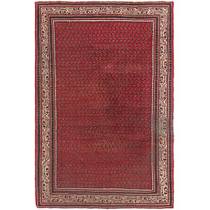 HandKnotted 5' 4 x 8' Botemir Persian Rug