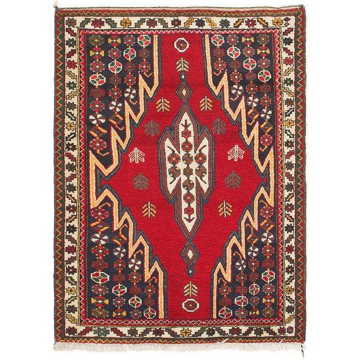 3' 6 x 5' Mazlaghan Persian Rug