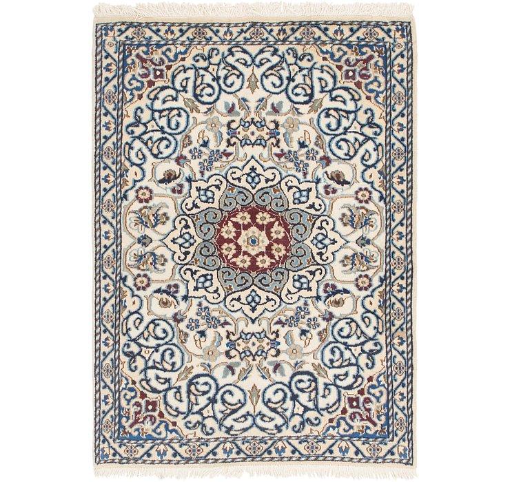 3' 2 x 4' 5 Nain Persian Rug