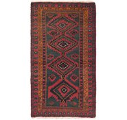 Link to 3' x 5' 3 Yalameh Persian Rug