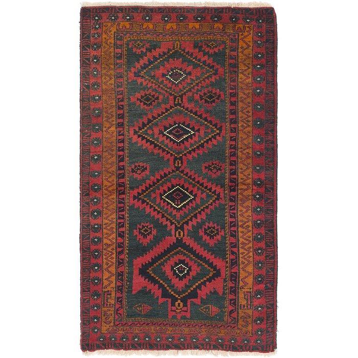 3' x 5' 3 Yalameh Persian Rug