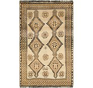 Link to 4' 1 x 6' 8 Shiraz-Gabbeh Persian Rug