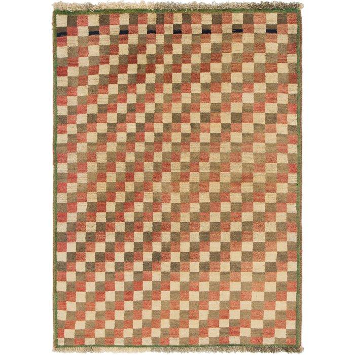 3' 3 x 4' 6 Shiraz-Gabbeh Persian Rug