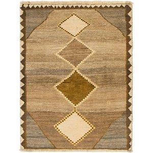 3' 3 x 4' 5 Shiraz-Gabbeh Persian Rug