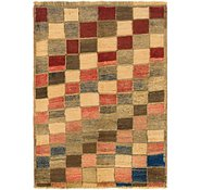 Link to 3' 7 x 5' Shiraz-Gabbeh Persian Rug
