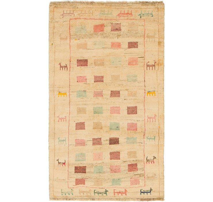 107cm x 188cm Ghashghaei Persian Rug
