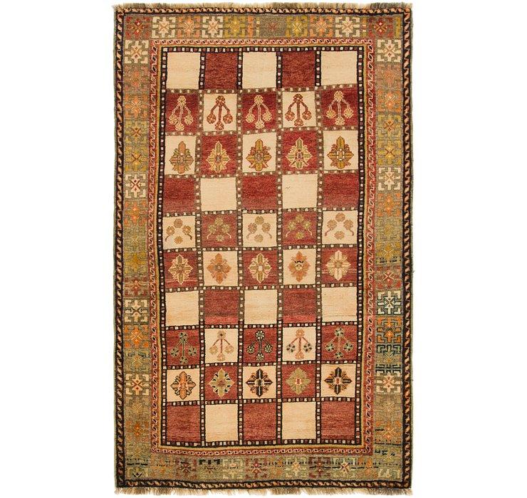 4' x 6' 8 Ghashghaei Persian Rug