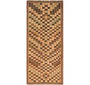 Link to 3' 2 x 7' 5 Shiraz-Gabbeh Persian Runner Rug