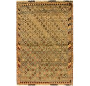 Link to 3' 7 x 5' 6 Shiraz-Gabbeh Persian Rug