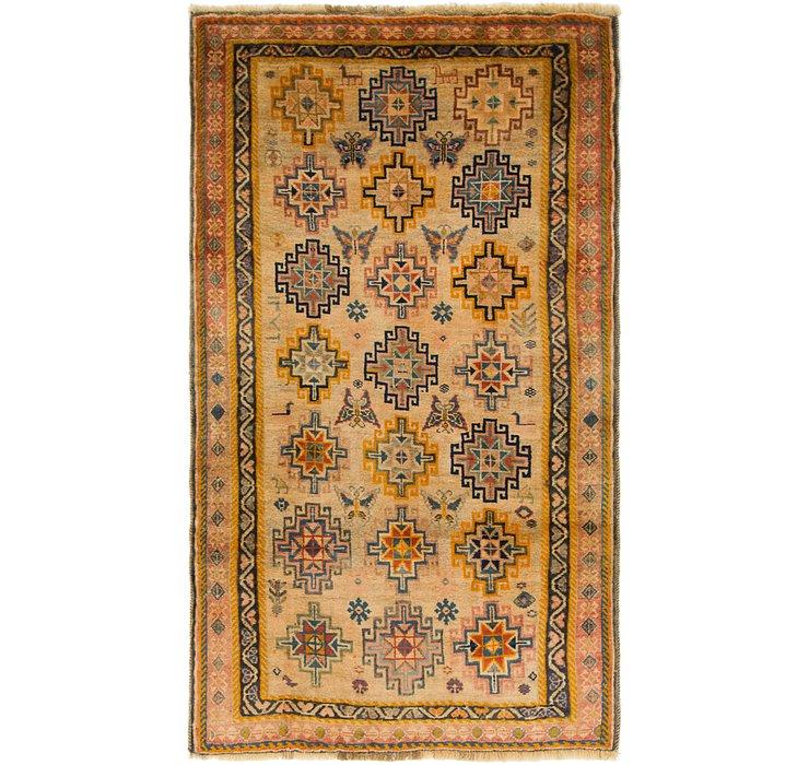 3' 8 x 6' 5 Ghashghaei Persian Rug