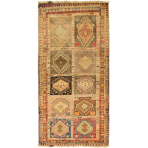 HandKnotted 3' x 6' 3 Shiraz-Gabbeh Persian R...