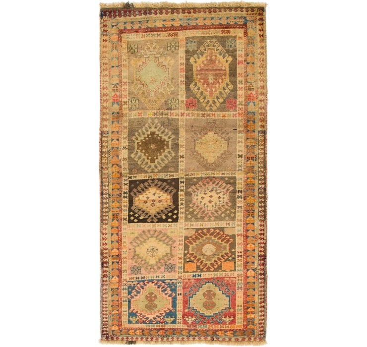 3' x 6' 3 Shiraz-Gabbeh Persian R...
