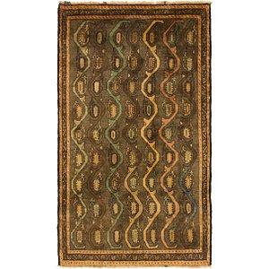 Unique Loom 3' 5 x 6' Shiraz-Gabbeh Persian Rug