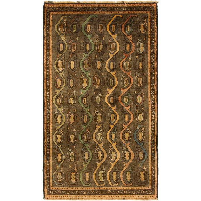 3' 5 x 6' Shiraz-Gabbeh Persian Rug