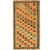 Link to 3' 7 x 6' 4 Shiraz-Gabbeh Persian Rug