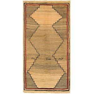 Unique Loom 3' 3 x 6' 3 Shiraz-Gabbeh Persian Rug