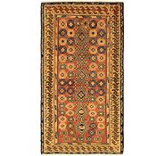 Link to 3' 6 x 6' 7 Shiraz-Gabbeh Persian Rug
