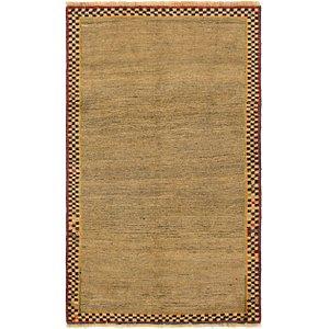 3' 8 x 6' 2 Shiraz-Gabbeh Persian Rug