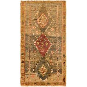 Unique Loom 3' 5 x 5' 10 Shiraz-Gabbeh Persian Rug