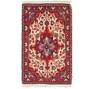 Link to 2' 3 x 4' Sarough Rug