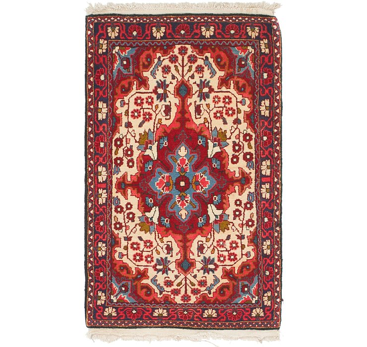 2' 3 x 4' Sarough Rug