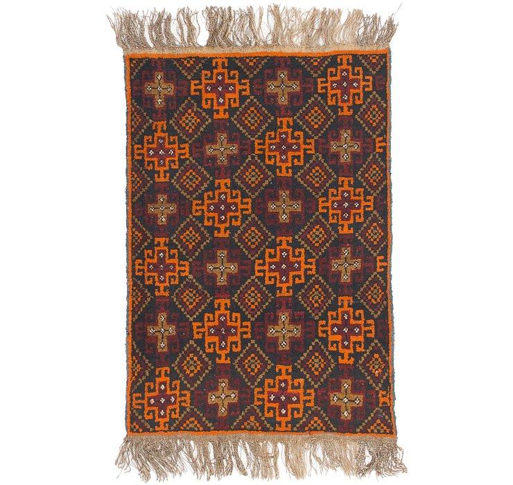 2' 9 x 4' 2 Shiraz Persian Rug