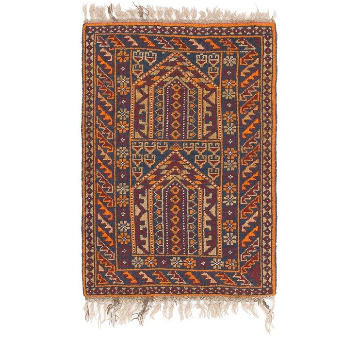 2' 7 x 4' Shiraz Persian Rug