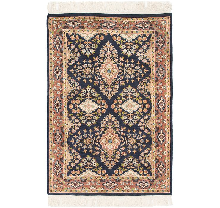 80cm x 127cm Jaipur Agra Oriental Rug