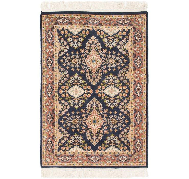 2' 8 x 4' 2 Jaipur Agra Oriental Rug