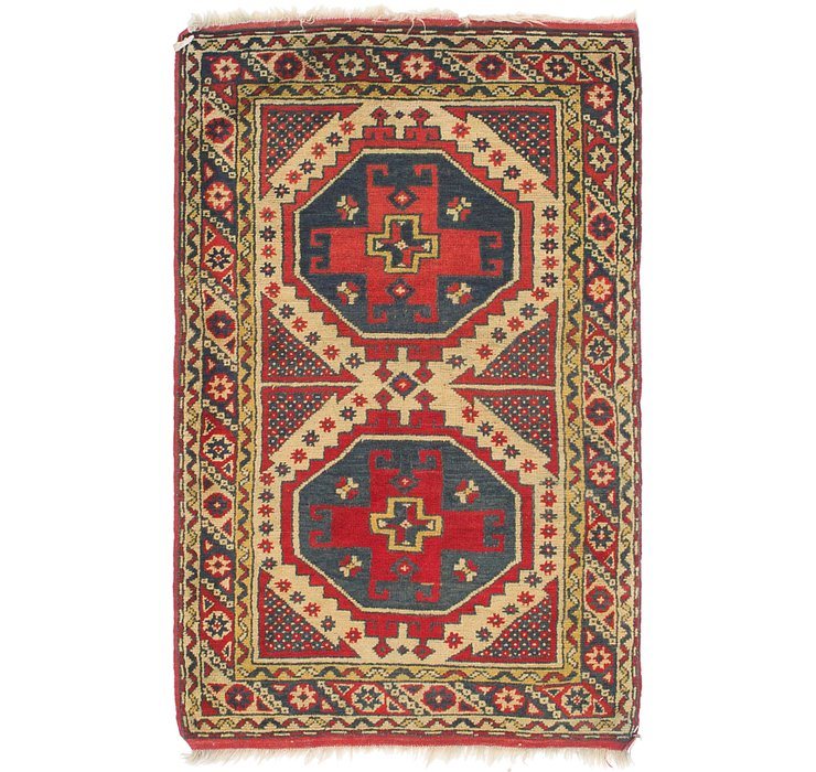 2' 10 x 4' 7 Kars Oriental Rug