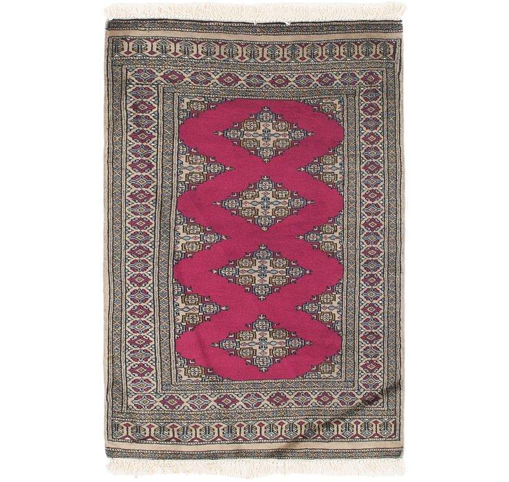 80cm x 127cm Bokhara Oriental Rug