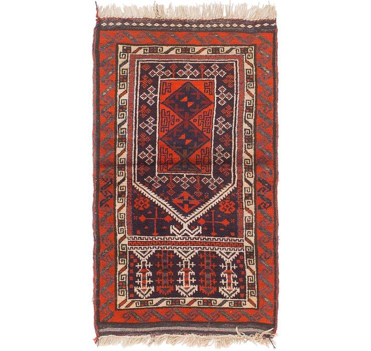 2' 5 x 4' 2 Shiraz Persian Rug