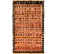 Link to 3' 8 x 6' Shiraz-Gabbeh Persian Rug