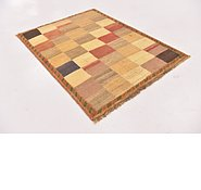 Link to 3' 5 x 4' 6 Shiraz-Gabbeh Persian Rug