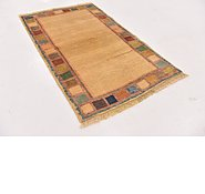 Link to 2' 9 x 4' 7 Shiraz-Gabbeh Persian Rug