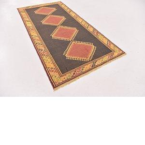 HandKnotted 3' 6 x 6' 9 Shiraz-Gabbeh Persian Rug